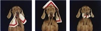 orderly, nurse, patient by william wegman