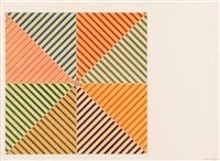 sidi ifni (from the hommage à picasso portfolio) by frank stella