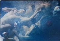 u.s. men's olympic water polo team, culver city, california (baywatch tank) by annie leibovitz