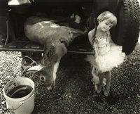 jessie and the deer by sally mann