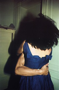 the hug, nyc by nan goldin