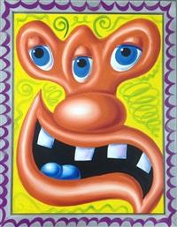 three eye guy by kenny scharf