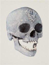 for the love of god (3/4) by damien hirst