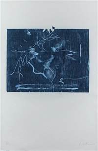 monoprint xiii – the clearing by helen frankenthaler