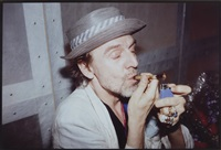 rene ricard smoking crack, nyc by nan goldin
