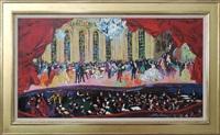 pavarotti – la traviata by leroy neiman