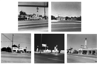 five views from the panhandle by ed ruscha