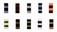 ten towers (complete set of 10 prints) by sean scully