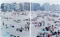 knokke beach (two prints) by massimo vitali