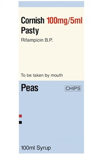 cornish pasty (from the last supper) by damien hirst
