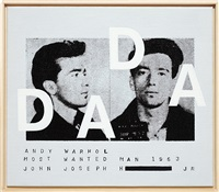 andy warhol, 'most wanted man #11', 1963, dada by richard pettibone