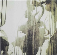 untitled (detail of painting) by cy twombly