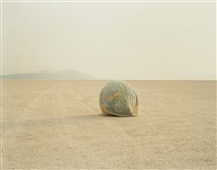 desert croquet no.1 (deflated earth) by richard misrach