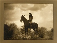 the scout - apache by edward sheriff curtis
