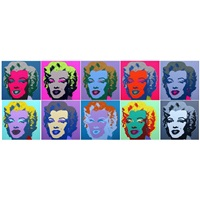 marilyn (sunday b. morning portfolio) by andy warhol