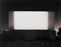 centinela drive-in, los angeles (no. 707) by hiroshi sugimoto