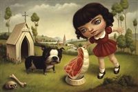 a dog named jesus by mark ryden