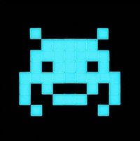 invasion kit 15: glow in the dark by invader