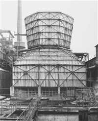 kühlturm (cooling tower), hagen-haspe, germany by bernd and hilla becher