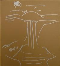 untitled (waterfall) by jeff koons