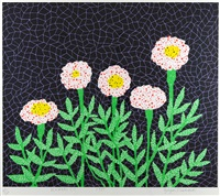 flowers (1) by yayoi kusama