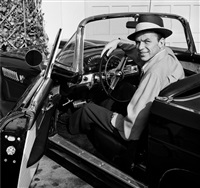 frank sinatra in t-bird by frank worth