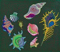 shellfish by yayoi kusama