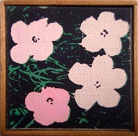 warhol flowers by richard pettibone