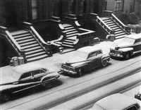white stoops by ruth orkin