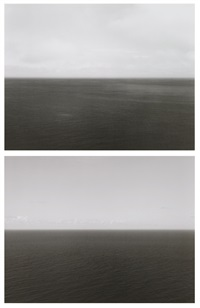 time exposed #336: north sea, berriedale (+ time exposed #363: bay of biscay, bakio ; 2 works) by hiroshi sugimoto