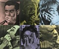 six colorful gags (male) by john baldessari