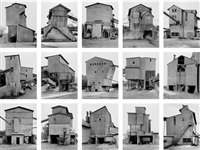 kies-und schotterwerke (gravel plants), from typologies by bernd and hilla becher
