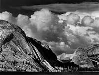 tenaya lake, mount conness, yosemite national park, california by ansel adams