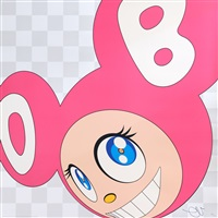 and then x5 (pink) by takashi murakami