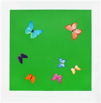 longing (from love poems) by damien hirst