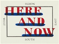 here and now by ed ruscha