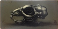 rat skull by roa