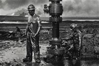 greater buhrman oil field, kuwait by sebastião salgado
