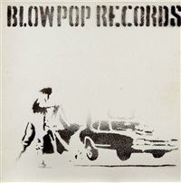 blow pop records by banksy