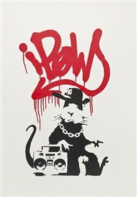 gangsta rat by banksy