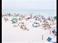 cagliari blue rectangle by massimo vitali