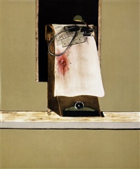 untitled (leon trotsky), from triptych by francis bacon