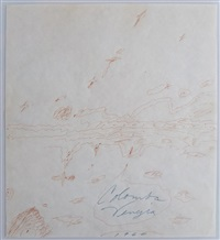 untitled (colomba venezia) by cy twombly
