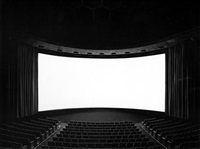 cinema dome, hollywood by hiroshi sugimoto
