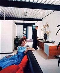 case study house #21, los angeles, ca (pierre koenig) by julius shulman