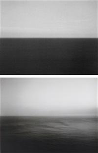 time exposed #370: marmara sea silivli (+ time exposed #305: sea of japan, hokkaido; 2 works) by hiroshi sugimoto