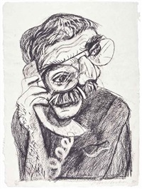 an image of ken (from moving focus) by david hockney