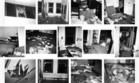 incident on 9th street (suite of 13 works) by christopher wool