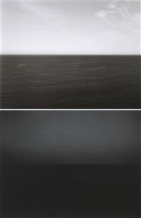 time exposed #330: tasman sea, ngarupupu (+ time exposed #360: south pacific ocean tearai; 2 works) by hiroshi sugimoto