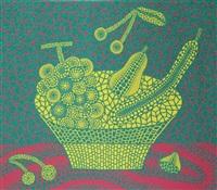 fruit basket (4) by yayoi kusama